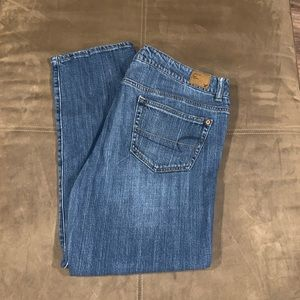 American Eagle Distressed Boy Fit Jeans Size 12